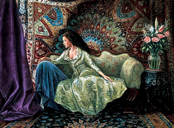 hermosas pinturas realistas
