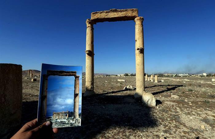 Fuertes Imágenes De Monumentos Arruinados Por ISIS