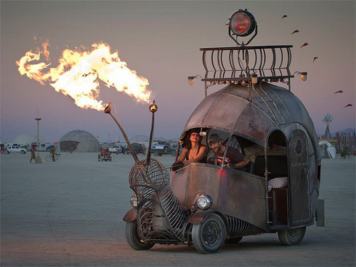 autos festival burning man