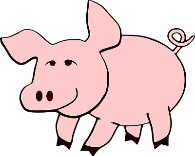 chiste cerdo milagroso