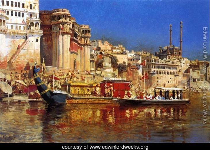 pinturas Edwin Lord Weeks