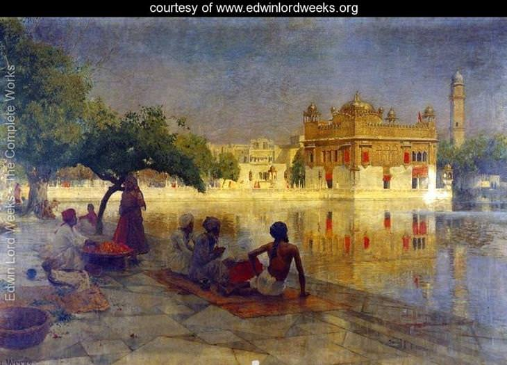 pinturas Edwin Lord Weeks