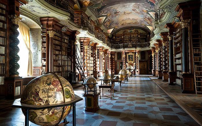 biblioteca más hermosa del mundo Praga