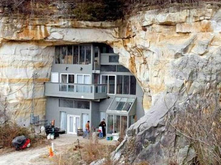 casas raras contruidas en lugares insólitos
