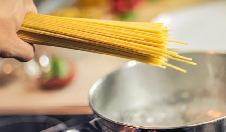 errores al cocinar pasta