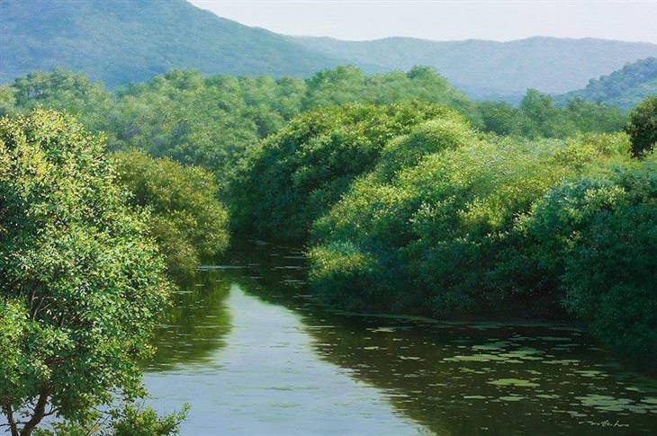 pinturas realistas An Jung-hwan