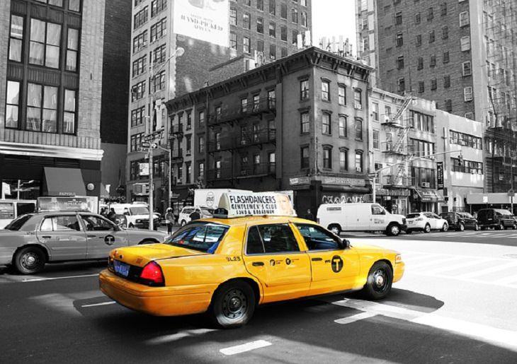 chiste la señora y el taxista