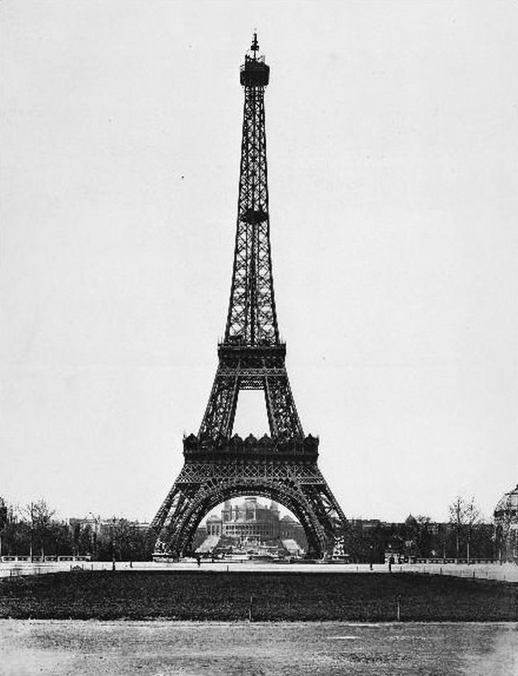 hechos sobre la torre eiffel