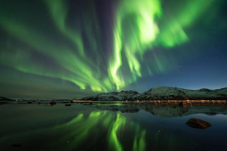 luces del norte, la aurora boreal