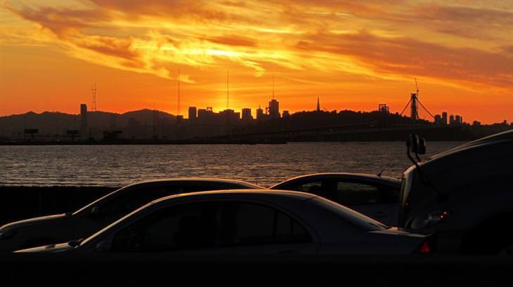 23 puestas de sol