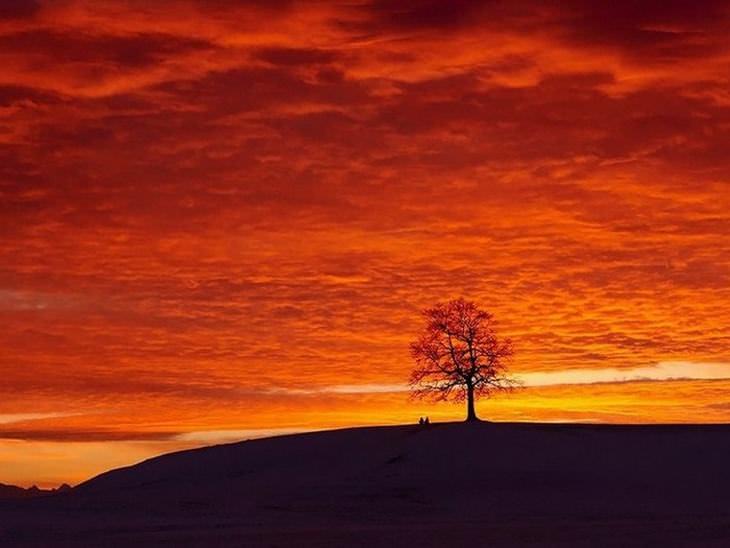 cielo se une con la tierra