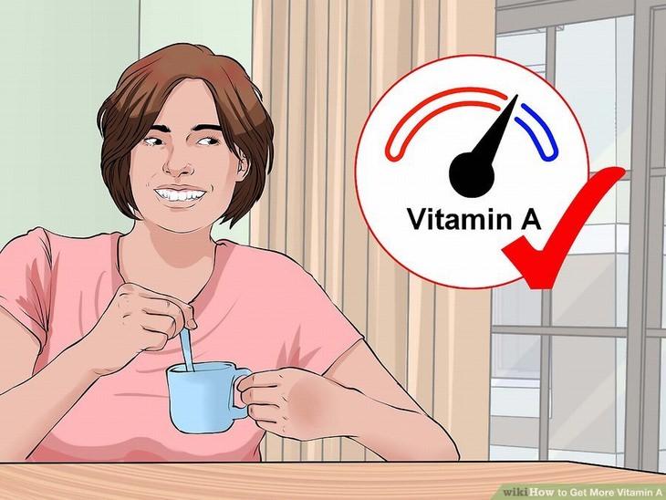 vitamina A para la vista