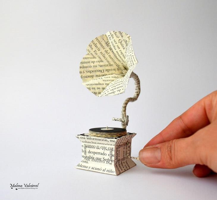 Miniaturas de papel