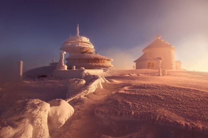 invierno Polonia