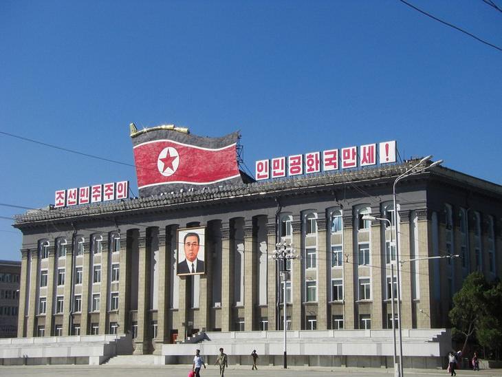 Prohibido en Corea del Norte