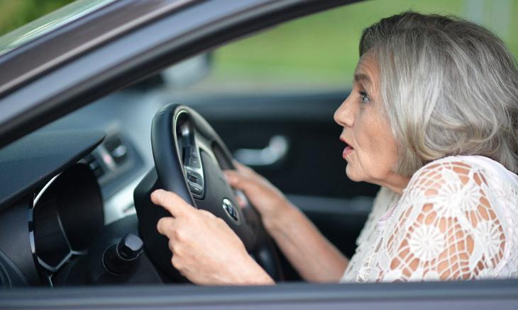 chiste señora y los límites de velocidad