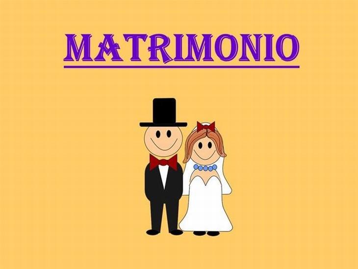 definición matrimonio