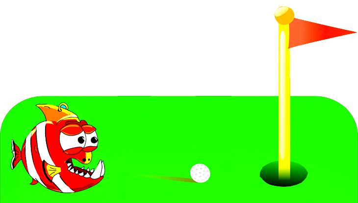 chiste: 3 jugadores golf