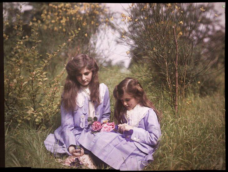 fotografías 1900 en color