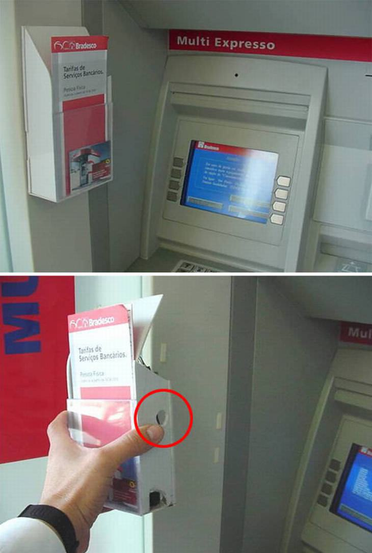 robo datos en cajeros automáticos