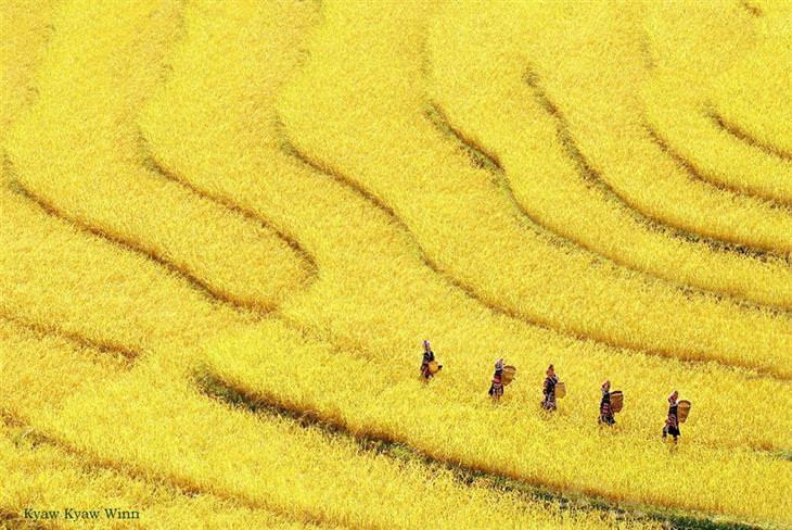 fotografías de Birmania