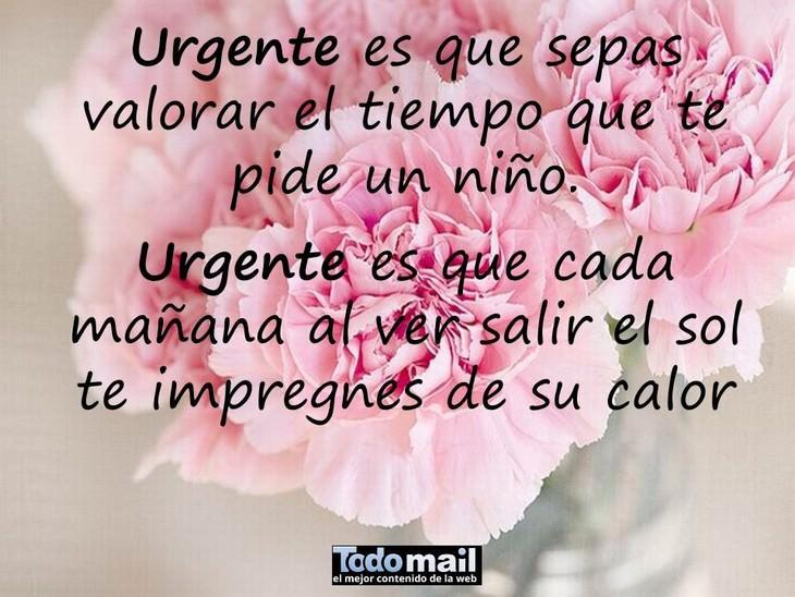 lo más urgente
