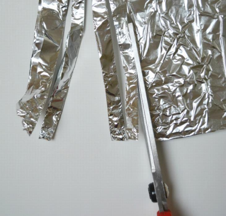 Usos papel aluminio