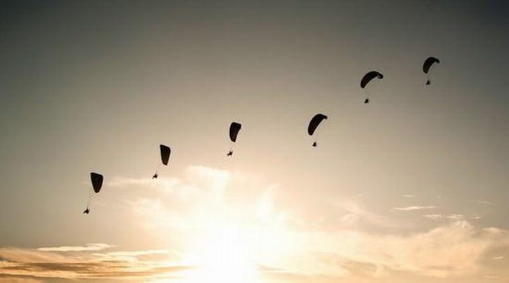 paracaídas espiritualidad