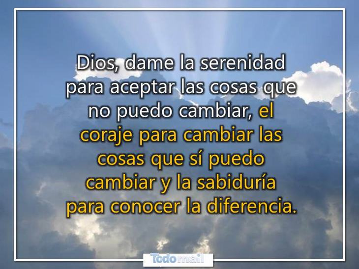 oraciones Dios