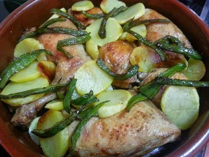 pollo receta
