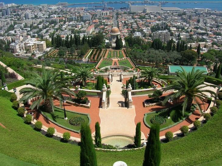 jardines Israel