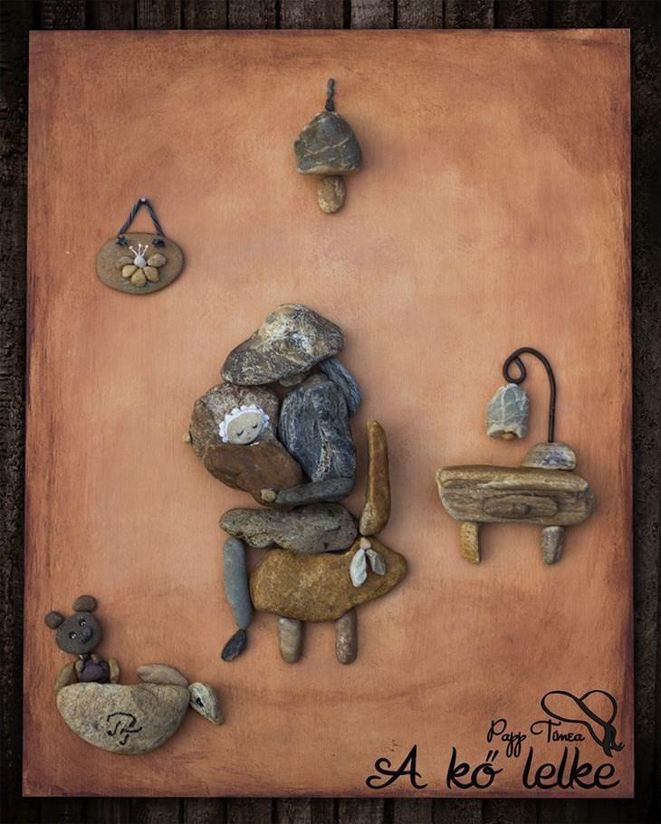 arte con piedras