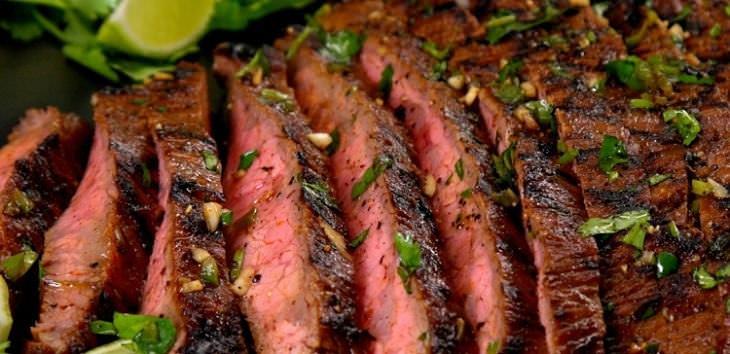 carne asada receta