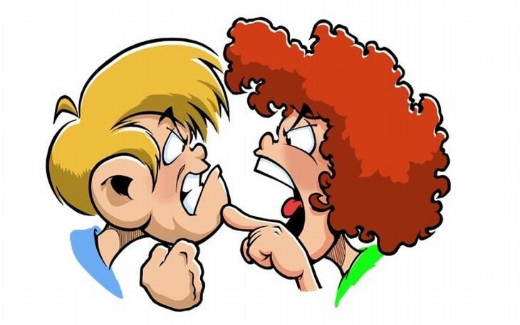 chistes mujeres y peleas