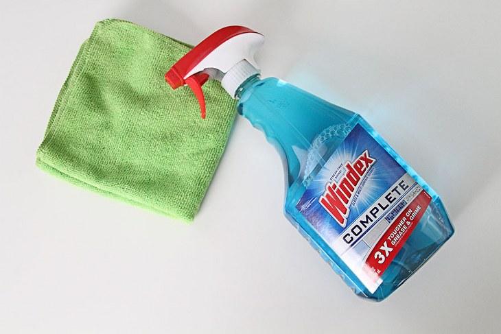 usos limpiador vidrios