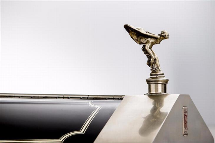 Interior Rolls- Royce Phantom