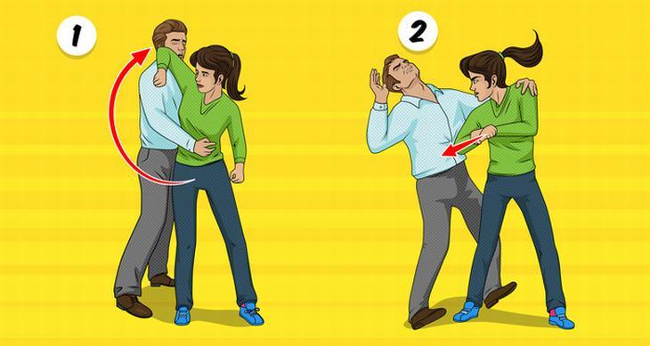 3 técnicas de autodefensa mujeres