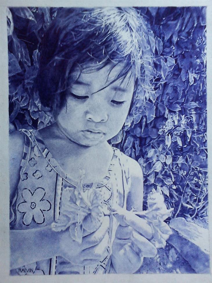 mágicas pinturas con boli