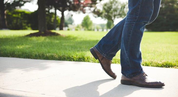 señales de los pies
