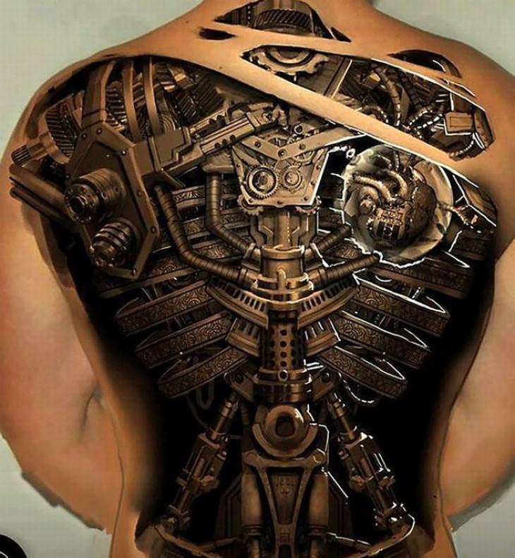 tatuajes en 3D