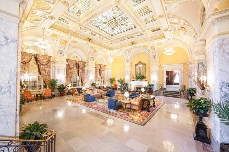 vestíbulos hoteles