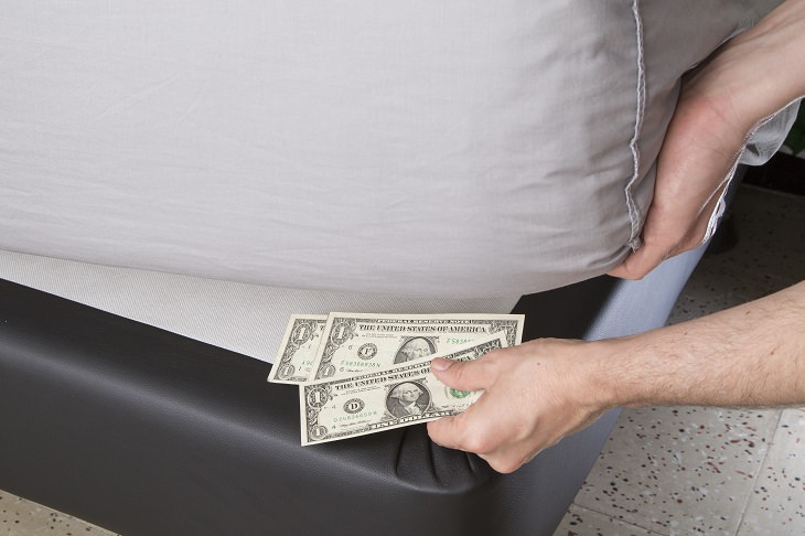 No esconder dinero