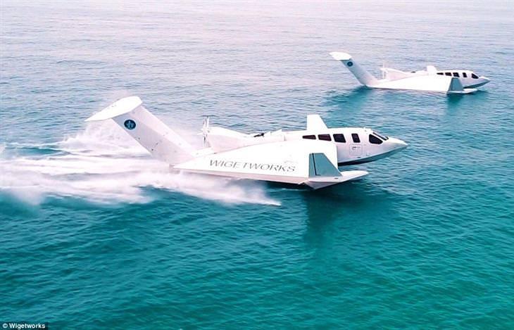 Airfish: el bote volador