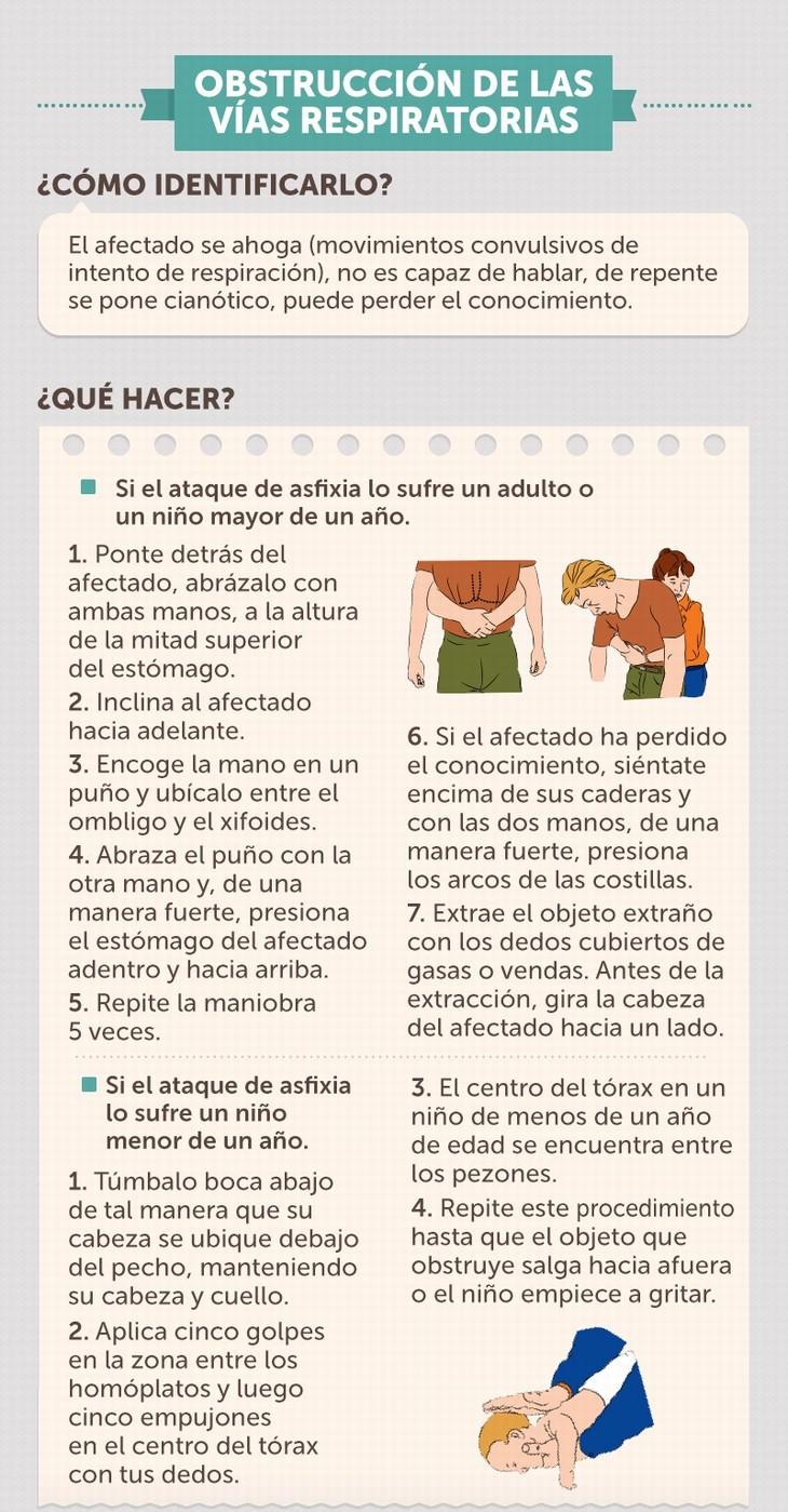 guía primeros auxilios