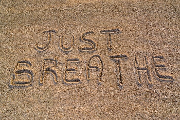 Respiración consciente para disminuir el estrés