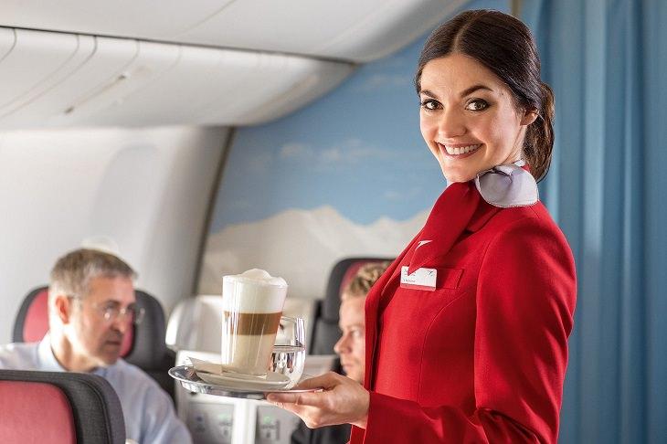 comidas bebidas avión