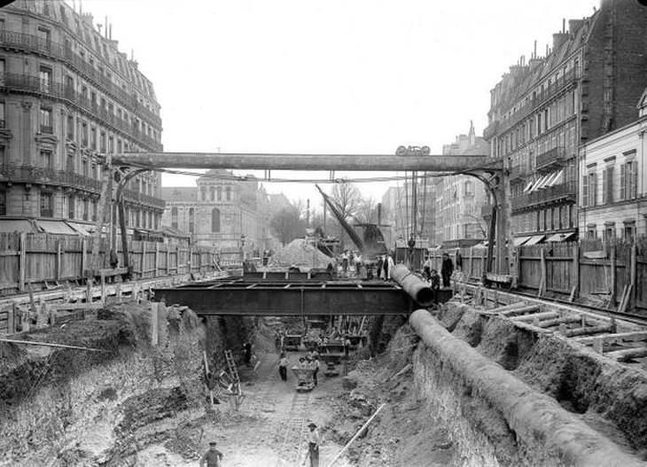 ciudades hace 100 años