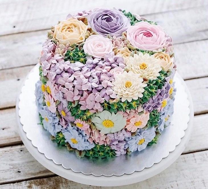 tortas primaverales