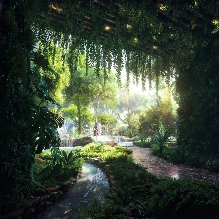 hotel bosque