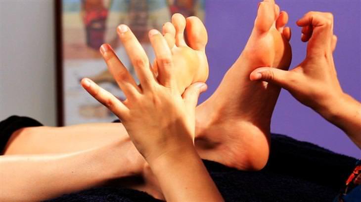 8 puntos de presión problemas piel